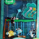 Mattel Furryville Town Collection: The Monkeymeyers at Play Chimp Family New