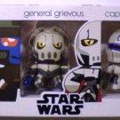 Hasbro Star Wars Mini  Mighty Muggs Vinyl Cad Bane, General Grievous & Captain Rex NEW