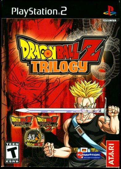 Atari Dragonball Z Trilogy For Sony Playstation 2 New Ps2 Game