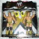 WWE Jakks Pacific Classic The Killer Bees B. Brian Blair and Jumping Jim Brunzell Action Figures NEW
