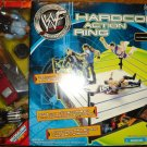 WWF WWE Jakks Pacific Hardcore Action Ring with Jim Ross Announcer & Referee Action Figures New