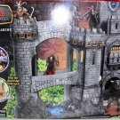 Disney Chronicles of Narnia Prince Caspian Deluxe Telmarine Castle Playset Includes 7 Pieces NEW