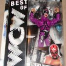 WWE Jakks Pacific Best of WCW Rey Mysterio Action Figure [Purple Mask & Outfit] with Chair New