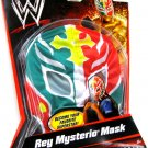 Mattel WWE Wrestling Gear Rey Mysterio Mask [ Green & Red Mask with Yellow Cross ] New