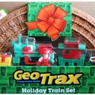 "Fisher Price Geo Trax Transportation System Holiday Train Set with Figure! (Toys""R""Us Exclusive) New"