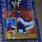 WWF WWE DTA Tour series 2 Owen Hart Blue Blazer Action Figure includes wrench & Cape New
