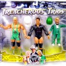 WWE Jakks Exclusive Series 9 Treacherous Trios Action Figure 3 Pack Hornswoggle Finlay & JBL New