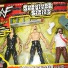 WWF Jakks Survivor Series TitanTron Live Undertaker, Stone Cold Steve Austin & Mankind New