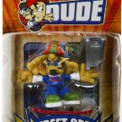 Spin Master Tech Deck Dude Ridiculously Awesome Street Crew #044 Rasta NEW