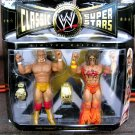 WWE Jakks Pacific Classic Superstars Series 5 Ultimate Warrior & Hulk Hogan Action Figures New