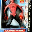 """Toy Biz Spider-Man The Movie Marvel Ultra Pose SpiderMan 14"""" with Amazing Sticking Action New"""