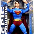 "Mattel Superman Returns - Epic powers Man of Steel 11"" inch Action Figure NEW"