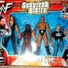 WWE Jakks Survivor Series TitanTron Live Undertaker, Kane, The Rock and Stone Cold Steve Austin