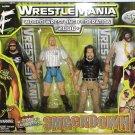 WWF  Jakks Smackdown WrestleMania 2000 X-Pac, Steve Austin, Big Show & Mankind Action Figures