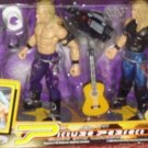 WWF WWE Jakks Pacific - Picture Perfect - Flashing Action Edge & Christan Action Figures New