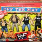 WWF Jakks - Off The Mat - Stone Cold, The Rock, The Road Dogg Jessie James & The Bad Ass Billy Gunn