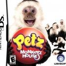 Petz Monkeyz House for Nintendo DS New Game