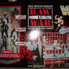 WWF WWE Jakks Pacific Raw Is War Action Ring with 6 Mini Figures New