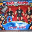 WWF WWE Jakks Bad to the Bonz Exclusive T-Shirt Edition Stone Cold Steve Austin Action Figures New