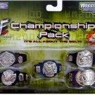 WWE WWF Jakks Pacific Wrestling Championship Title Belt Pack NEW