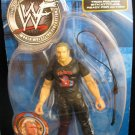 WWF WWE Jakks Pacific Rebellion Series 4 Triple H Action Figure Real Scan Tron Ready with Whip NEW