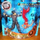 WWF WWE Wrestling Final Count Series 1 Action Figure 2-Pack Twist of Fate Matt Hardy vs Lita New