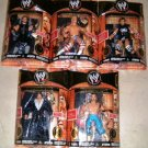 WWE Jakks Pacific Classic Deluxe Superstars Super Articulation Series 3 Complete Action Figure Set