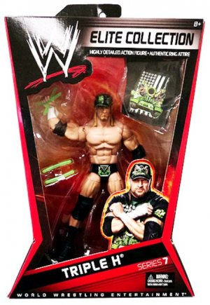 Mattel WWE Wrestling Elite Collection Series 7 DX TRIPLE H Action Figure with accessories New