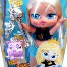 "MGA Entertainment Bratz Big Babyz Princess 13"" Doll Cloe with Pet Pig NEW"