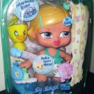 "MGA Entertainment Bratz Big Babyz Bathtime Blitz 13"" Doll Cloe with Pet Duckie NEW"