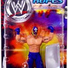 WWE Jakks Pacific Wrestling Off the Ropes Series 3 Rey Mysterio Action Figure NEW