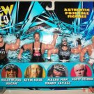 "WCW Wrestling NWO HOLLYWOOD HULK HOGAN, KEVIN NASH, ""MACHO MAN"" RANDY SAVAGE (R.I.P) & SCOTT STEINER"