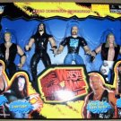 WWF Jakks WrestleMania 14 XIV Shawn Michaels, Stone Cold, Undertaker & Triple H Action Figures New