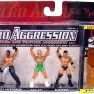 WWE Jakks Micro Aggression Series 4, Rey Mysterio, Finlay & Batista Action Figures New