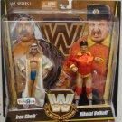 WWE Mattel Wrestling Legends Series 1 Iron Sheik & Nikolai Volkoff Action Figure