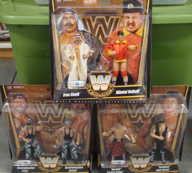 Buy Mattel Toys - Wwe Mattel Toys R Us Exclusive True Legends Elite Complete Set Of 6 A