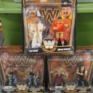 WWE Mattel Toys r Us Exclusive True Legends Elite COMPLETE Set of 6 Action Figures ( 3 ) 2-Packs