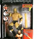 "WWE Jakks Pacific Action Figure "" The Game "" TRIPLE H Deluxe Aggression 1 with Sledge Hammer New"