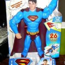 """Mattel Superman Returns - Ultimate Powers Superman 12"""" inch electronic talking Action Figure NEW"""