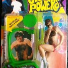 """McFarlane Toys Ultra Cool 7"""" Inch Action Figure Austin """" Danger """" Powers w/ Voice Chip & Green Base"""