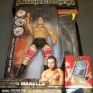 WWE Jakks Pacific DELUXE Aggression Series 17 Santino Marella Action Figure with Denting Chair NEW