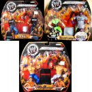 WWE Jakks Pacific Wrestling Adrenaline Series 6 COMPLETE Set of 6 Action Figures ( 3 ) 2-Packs NEW