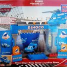 Mega Bloks ( 7785 ) Pixar Cars The World of Cars Dinoco Stage Podio - Dinoco Racing Series WOC NEW