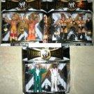 WWE Jakks Classic Superstars Series 5 COMPLETE Set of 6 Action Figures ( 3 ) 2-Packs New