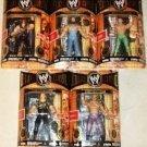 WWE Jakks Pacific Wrestling Classic Deluxe Superstars Series 6 COMPLETE Set of 5 Action Figures