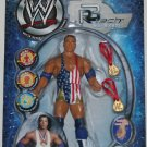 WWE Jakks Pacific SmackDown R-3 Tech Series 04 Blue Bloods Kurt Angle Action Figure with Medals New