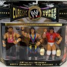 "WWE Jakks Classic Jim ""The Anvil"" Neidhart, Marty Jannetty & Tito Santana Action Figure 3-Pack"