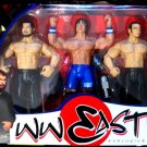 WWF WWF Jakks Pacific Wrestling Exclusive Far East Action Figure 3-Pack Funaki, Akio & Sakoda New