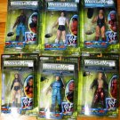 WWF WWE Jakks Wrestlemania 2000 Rulers of the Ring COMPLETE Set of 6 - Action Figures New