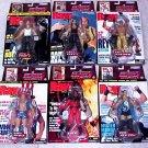 WWE Jakks Pacific RAW Uncovered COMPLETE Set of 6 Action Figures Walmart Exclusive NEW